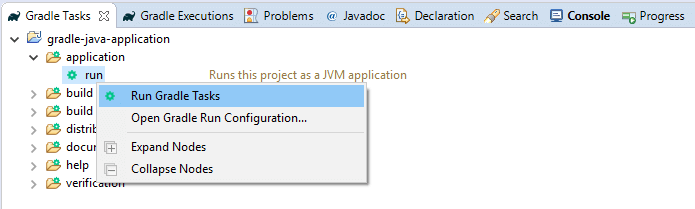 How to create a java project with gradle in eclipse | BORAJI COM