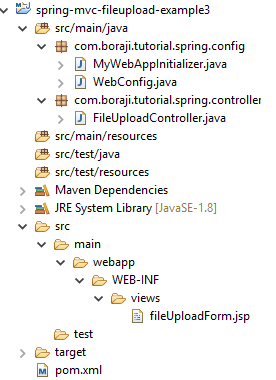Spring MVC 4 - JQuery Ajax file upload example with progress bar