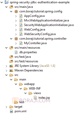 Spring Security 5 - JDBC based authentication example | BORAJI COM